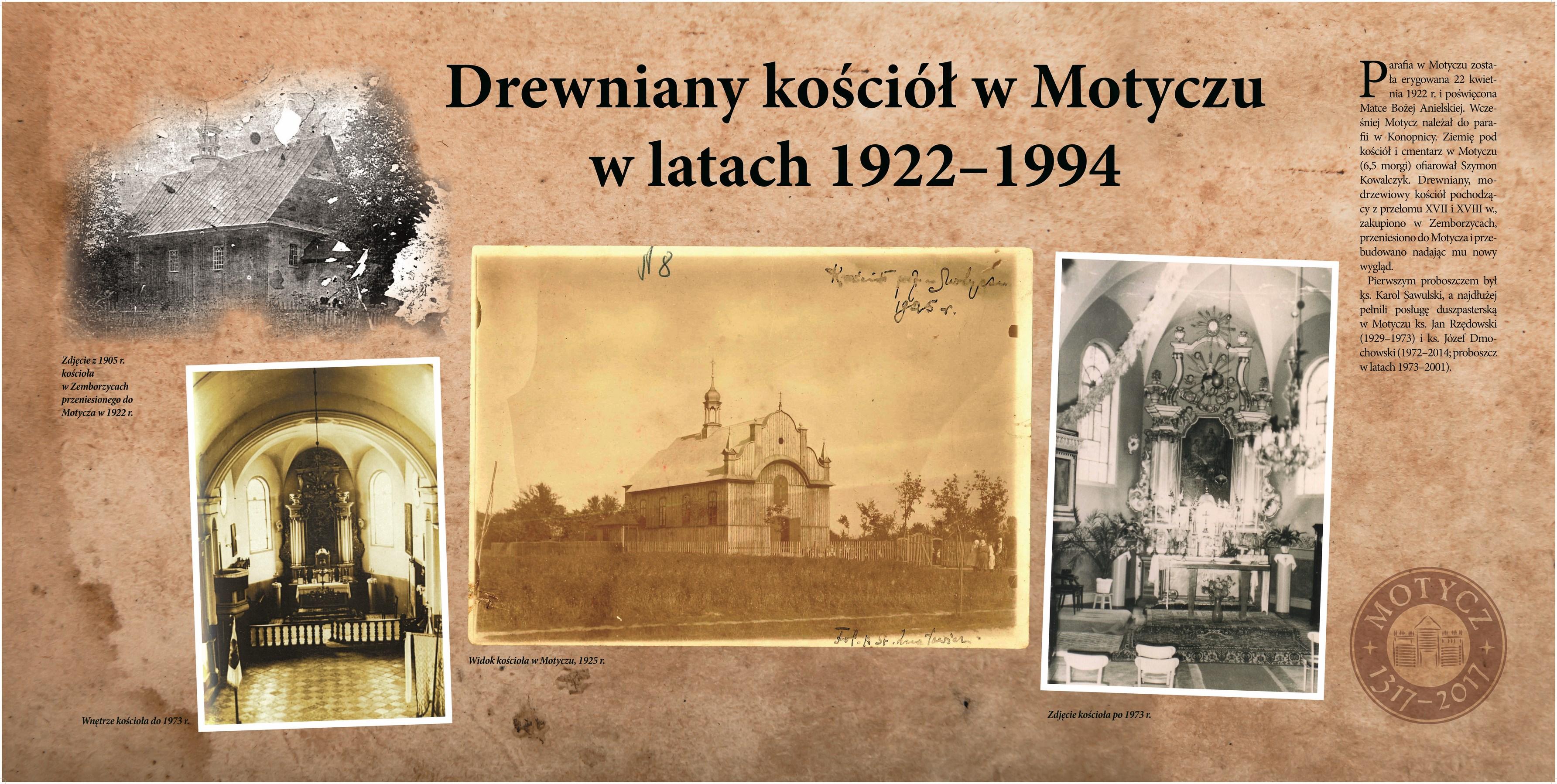 Drewniany Kościół w Motyczu