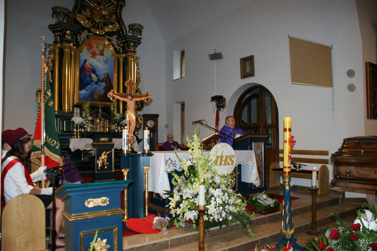 Pogrzeb Czesława Maja 21.06.2011 r.